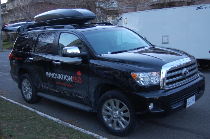 Innovation150 Vehicle: Toyota Sequoia (Platinum Edition)
