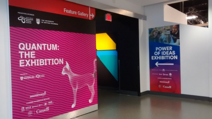 Welcome to both the Quantum and Power of Ideas exhibit